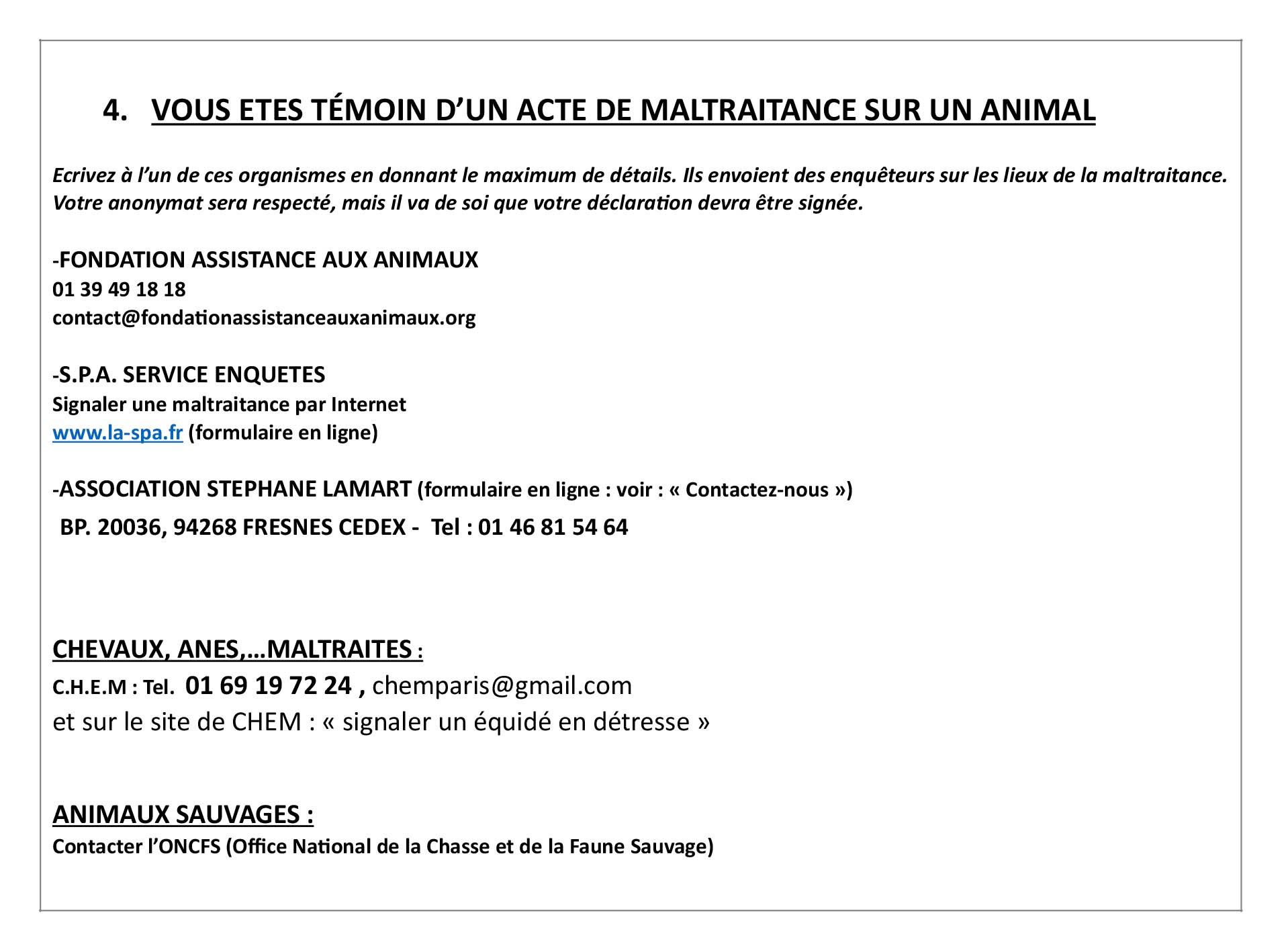 aide aux animaux 2